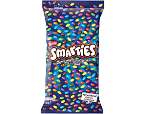 Chocolate Smarties 1kg - Lollies