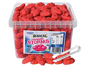 Radical Strawberry Storms 1.65kg tub